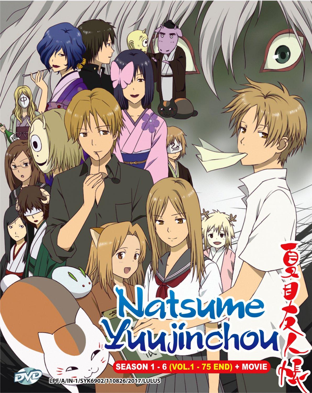 DVD Natsume Yuujinchou Season 1-6 + Movie Natsume's Book of Friends English Sub