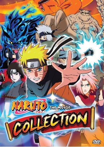 DVD Naruto The Movie Collection Box Set Naruto Shippuden Anime English  Dubbed