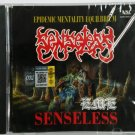SENSELESS Epidemic Mentality Equilibrium E.M.E CD New Malaysia Death Metal Band