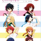 DVD Tsure x dure Children Vol.1-12End Tsurezure Children Anime English Sub