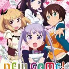DVD New Game TV Series Season 1-2 + OVA Japanese Anime Region All English Sub