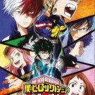 DVD ANIME My Hero Academia Season 1 English Audio Boku no Hero Academia Season 2