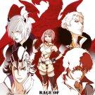 DVD Senki Zesshou Symphogear AXZ Season 4 Japanese Anime Region All English Sub