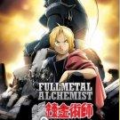 DVD Fullmetal Alchemist Season 1+2 (Vol 1-115 End) + 2 Movie Japanese Anime Region All English Sub