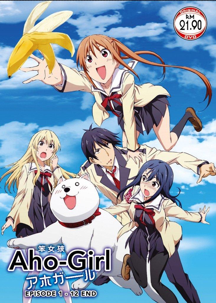 DVD A-ho Girl Vol.1-12End Ahogaru Clueless Girl Anime Region All English Sub