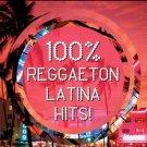 100% Reggaeton Latina Hits (CD)