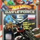 DVD Hot Wheels Battle Force 5 Vol.7 & 8 Anime Region All English Version English Sub