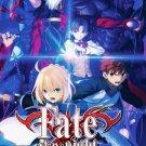 DVD Fate Stay Night Season 1-2 + Movie Japanese Anime Region All English Dubbed
