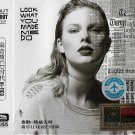 TAYLOR SWIFT Look What You Made Me Do Reputation Greatest Hits 3CD HD Mastering