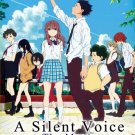 DVD A Silent Voice Koe No Katachi Anime Film Animation of The Year English Dub
