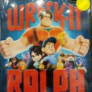 DVD Disney Wreck-It Ralph Anime Region All English Dubbed English sub