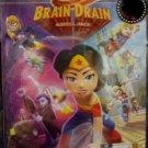 DVD Lego DC Super Hero Brain Drain Original Story Anime Region All English Dubbed English sub