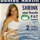 Denise Austin Shrink Your Female Fat Zones DVD English audio Region All