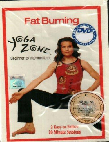 Fat Burning Yoga Zone Beginner To Intermediate DVD English audio