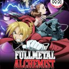DVD Fullmetal Alchemist Season 1-2 Brotherhood + 2 Movie + OVA Anime English Sub