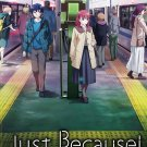 DVD Just Because Vol.1-12End Japanese Anime TV Series Region All English Sub