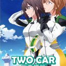 DVD Two Car Racing Sidecar Vol.1-12End Japanese Anime Region All English Sub
