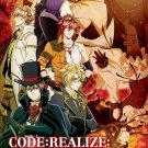DVD ANIME Code Realize Sousei no Himegimi Guardian of Rebirth English Sub