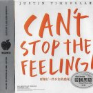 JUSTIN TIMBERLAKE Can't Stop The Feeling Greatest Hits 3CD Vinyl Shaped Disc