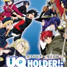 DVD UQ Holder!: Mahou Sensei Negima! 2 Vol.1-12End Anime Region All English Sub