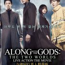 DVD Along With The Gods The Two Worlds live Action The Movie 与神同行Korean Movie Region All
