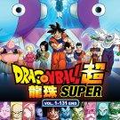 DVD Dragon Ball Super Episode 1-131 End Complete Set Japanese Anime Region All