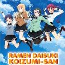 DVD Ramen Daisuki Koizumi-San Vol.1-12 End Japanese Anime Region All Eng Sub
