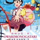 DVD Owarimonogatari Sea 2 Vol.1-7 End Japanese Anime Region All Eng Sub