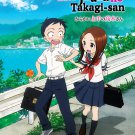 DVD Karakai Jouzu no Takagi-san Ep.1-12 End Japanese Anime Region All Eng Sub