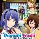 DVD Dagashi Kashi Sea 1+2 Vol.1-24 End Eng Dub Japanese Anime Region All Eng Sub