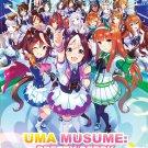 DVD Uma Musume Pretty Derby Vol.1-13 End Japanese Anime Region All Eng Sub
