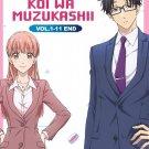 DVD Wotaku Ni Koi Wa Muzukashii Vol.1-11 End Japanese Anime Region All Eng Sub