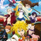 DVD The Seven Deadly Sins Ep 1-24 End Japanese Anime Region All Eng Sub