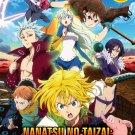 DVD Nanatsu No Taizai Imashime No Fukkatsu Vol.1-25 End Japanese Anime Region All Eng Sub