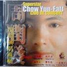 Chow Yun Fatt Superstar Live In Concert 周润发 现场演唱专辑 CD