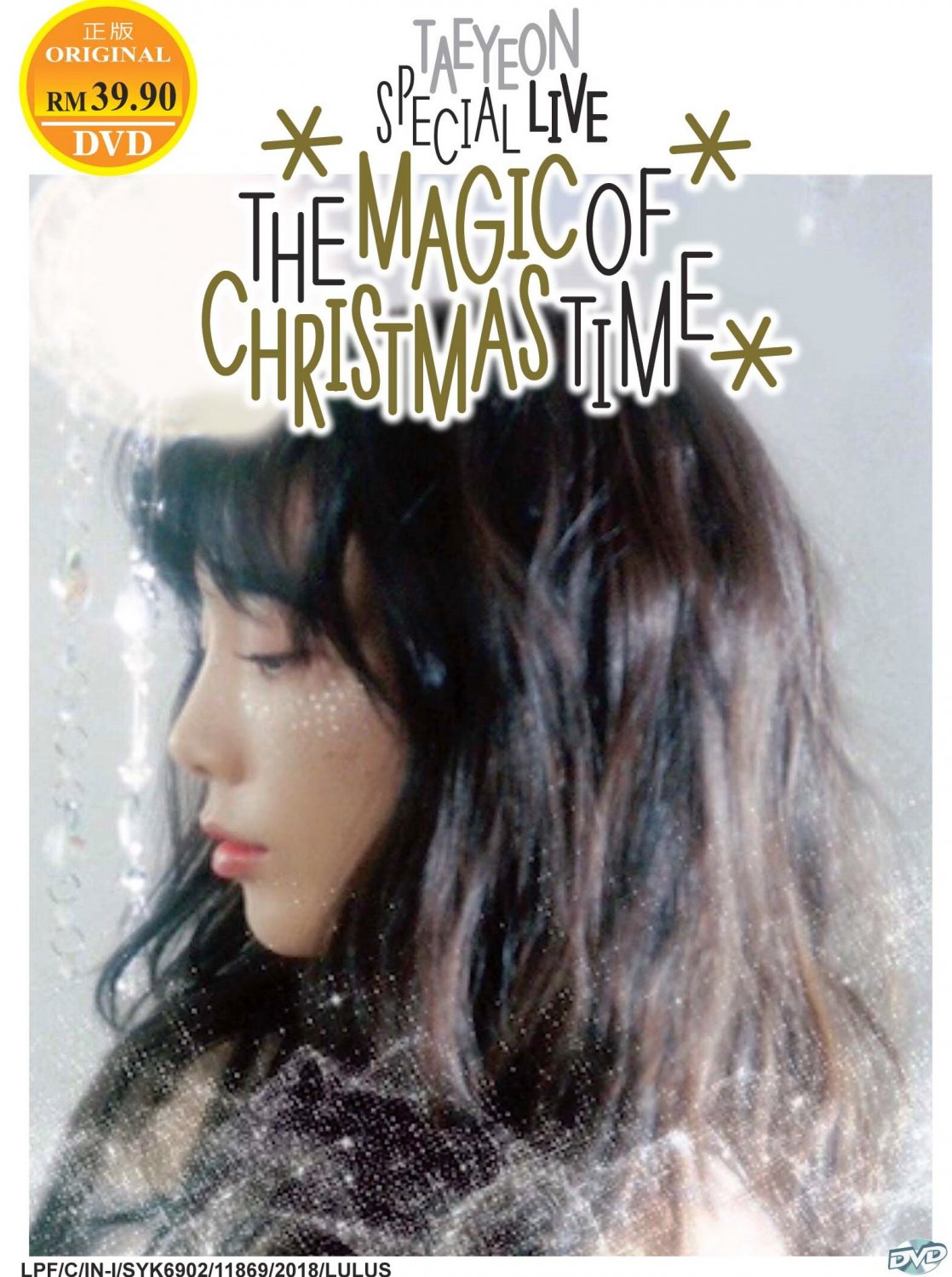 DVD Taeyeon Special Live-The Magic Of Christmas Time Region All Eng Sub