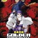 DVD Golden Kamuy Vol.1-12 End Japanese Anime Region All Eng Sub Eng Dub