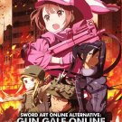 DVD Sword Art Online Alternative Gun Gale Online Vol.1-12 End + Special Japanese Anime Eng Sub