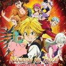 DVD Nanatsu No Taizai  Vol.1-53 End + 2 OVA Japanese Anime Eng Sub Region All