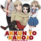 DVD Akkun To Kanojo Vol.1-25 End Japanese Anime Eng Sub Region All
