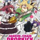 DVD Jashin Chan Dropkick Vol.1-12 End 音樂少女 Japanese Anime Eng Sub Region All