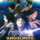 DVD Angolmois Genkou Kassenki Vol.1-12 End 元寇合战记 Japanese Anime Eng Sub Region All