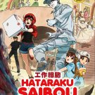 DVD Hataraku Saibou Vol.1-13 End Japanese Anime Eng Sub Region All