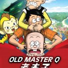 DVD Cantonese Cartoon Old Master Q Vol.1-13 End 老夫子 Anime Region All