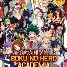 DVD Boku-No Hero Academia Sea 1-3 Vol.1-63 End Japanese Anime Eng Dub region All