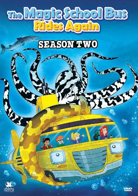 DVD The Magic School Bus Rides Again Season Two Anime Region All Eng Dub