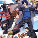Gakuen Basara Vol.1-12 End Japanese Anime DVD Eng Sub Region All