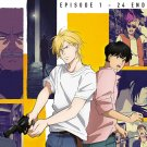 Banana Fish Ep.1-24 End Japanese Anime DVD Eng Sub Region All
