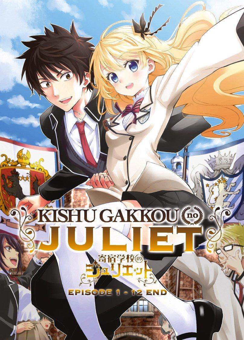 Kishuku Gakkou No Juliet Ep.1-12 End Japanese Anime DVD Eng Sub Region All