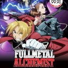 Fullmetal Alchemist Season1+2+2Movie+1OVA Anime DVD Eng Sub Region All